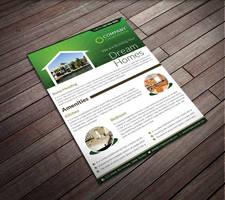 Real Estate Corporate Flyer by Saptarang