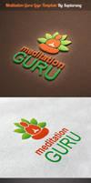 Meditation Guru Logo Template by Saptarang