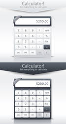 Calculator UI by Saptarang