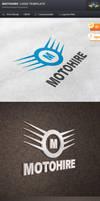 Motohire Logo Template by Saptarang