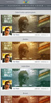 Retro Facebook Timeline Cover by Saptarang