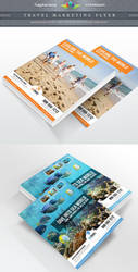 Travel Agency Marketing Flyer by Saptarang