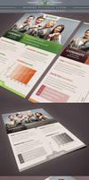 Modern Business Flyer by Saptarang