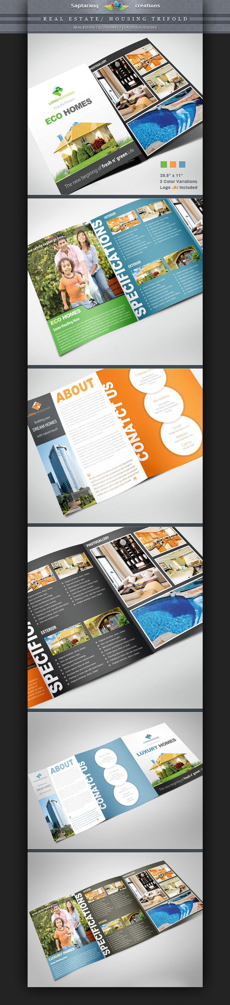 Real Estate / Housing Trifold by Saptarang
