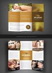 Splendid Beauty Spa / Salon Trifold Brochure by Saptarang