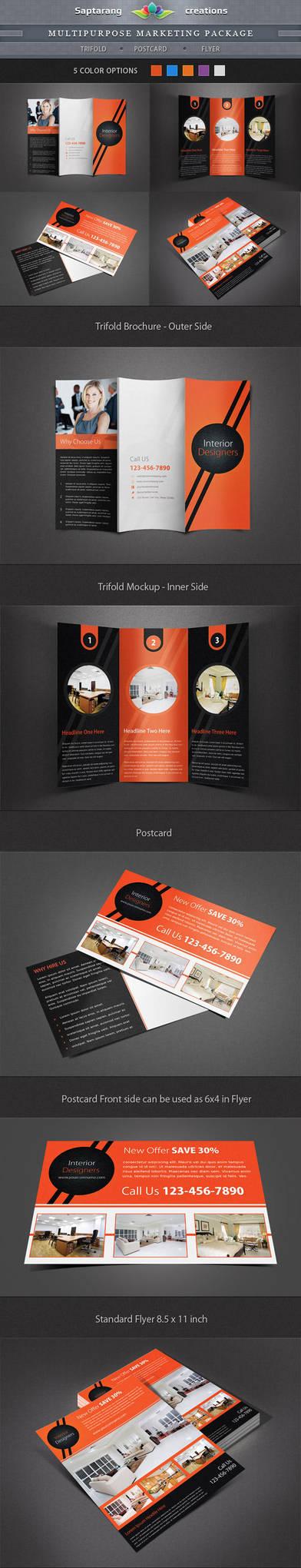 Multipurpose Marketing Package by Saptarang