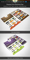 Shopping Store Marketing Flyer by Saptarang