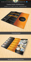 Creative Studio Trifold brochure by Saptarang