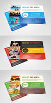 Multipurpose Marketing Postcard or Flyer by Saptarang