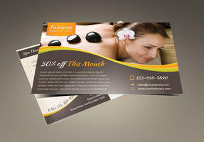 Spa Marketing Postcard / Flyer Vol.2 by Saptarang