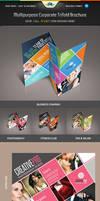 Multipurpose Corporate Trifold Brochure by Saptarang