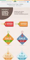 Realistic Price Tags by Saptarang