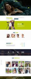 Professional Photography Responsive Landing Page by Saptarang