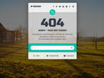 404-Error Page by Saptarang