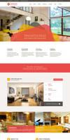 Striking Interior Design Company Template by Saptarang