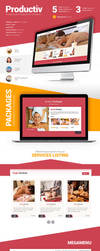 Productiv Responsive Template by Saptarang