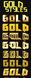 Gold Styles Pack by platinumdesignzcom