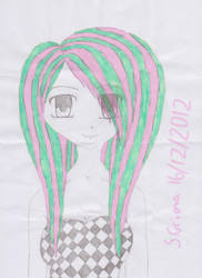 Scene anime girl :D by cronalove