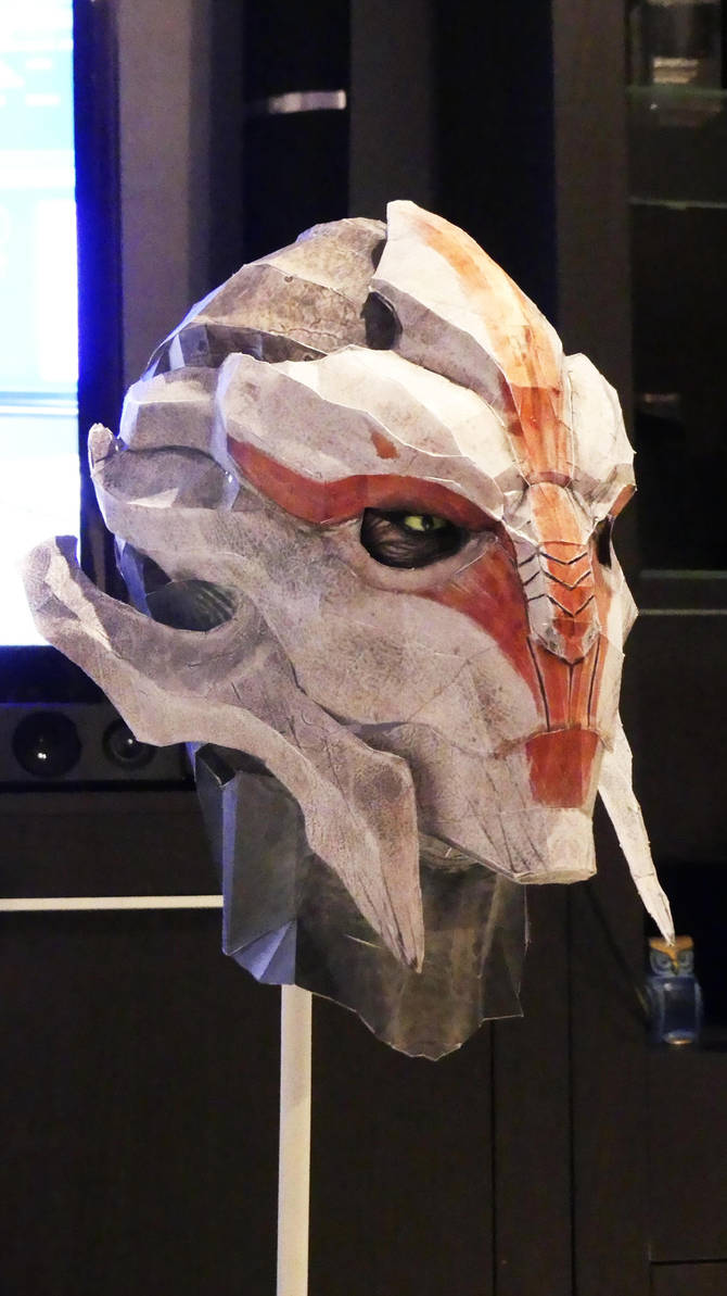 Papercraft Nyreen Kandros Life Size by MsieuFrodon