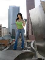 Giant Denise Milani by bcgfdfshggd