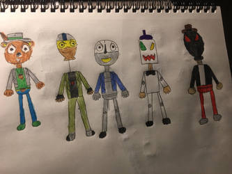 Nightmare Gang 5 by cartoonrevenge