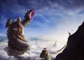 MH4U - Facing the legend by E-Blizard