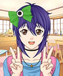 *Desc.* | Rei Manga Avatar by Rosewood-Blaze