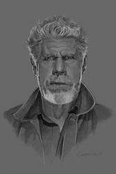 Ron Perlman. by garrypfc