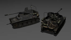 SdKfz 132 Marder II by BurroDiablo