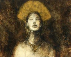 Gold Headdress by Cybotics