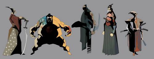 samurai concepts 5 by EduardVisan