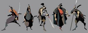 samurai concepts 6 by EduardVisan