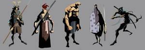 samurai concepts 7 by EduardVisan