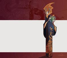viking witch by EduardVisan