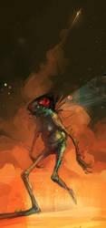 alien by EduardVisan