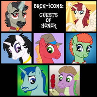 Bron-Icons: Guests of Honor by Tim-Kangaroo
