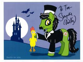 Svenpony - Autographed! by Tim-Kangaroo