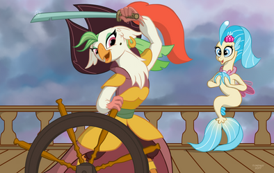 Friendship is Sky Pirates by Tim-Kangaroo