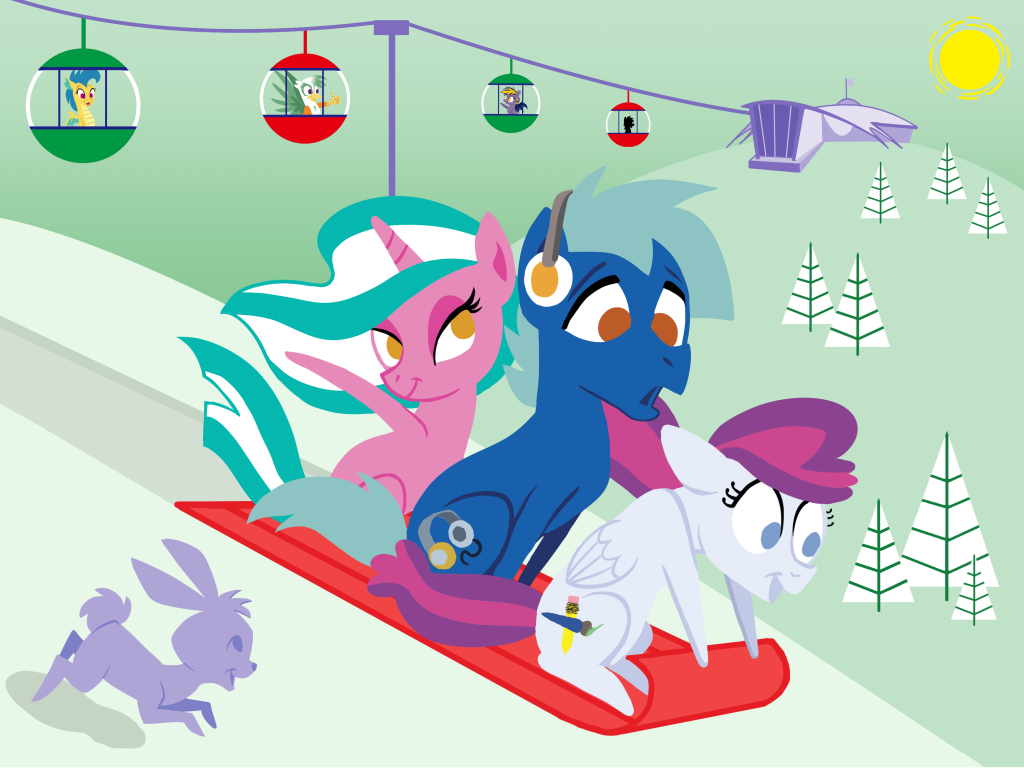 BronyCon Holiday Card 2017 by Tim-Kangaroo