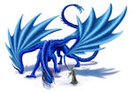 Sapphire Dragon by PutridusCor