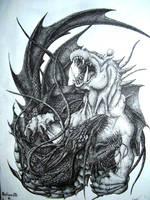 Behemoth and Leviathan by PutridusCor