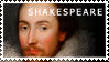 Shakespeare stamp by eruptionsolaire