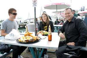 Lunch at Sydney Fish Market by spyed