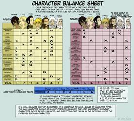Character Balance- Second Soul by bwaka