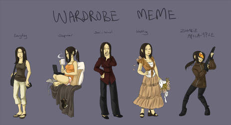 Wardrobe Meme by bwaka