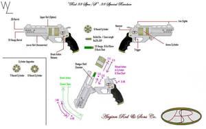 'Red 38 Spec S' Revolver by KillSwitchWes