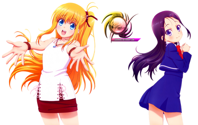 (Request) Charlotte - Yusarin and Ayumi by sharknex