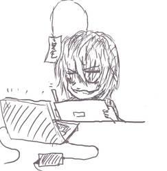 Kaizo is drawing by KaizoZhang