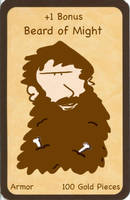 Munchkin - Beard of Might by Paulwise