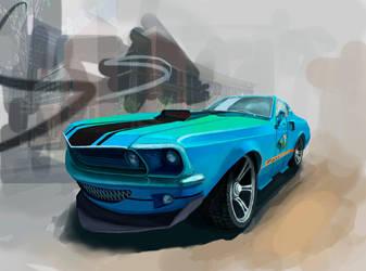 Mustang by IrisRevolver